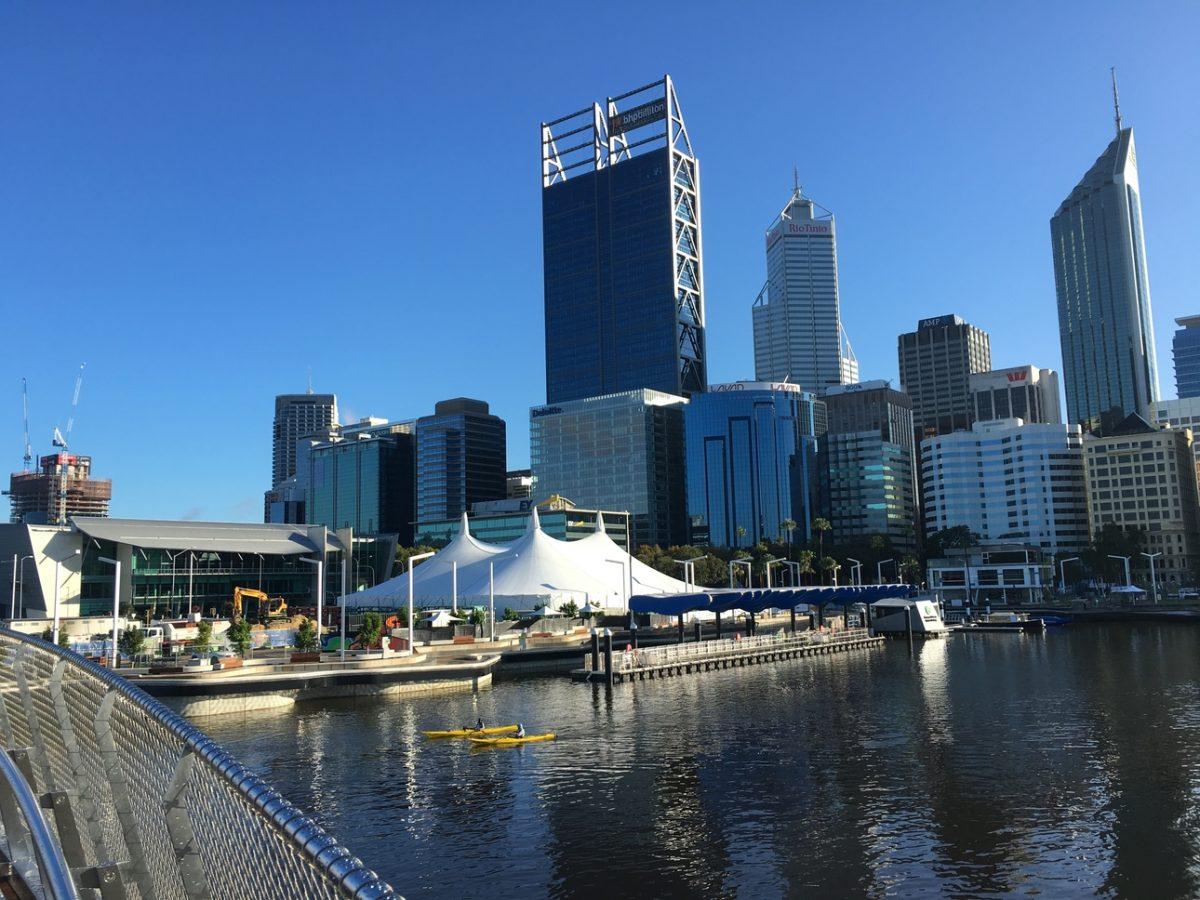 Elizabeth Quay, Perth WA