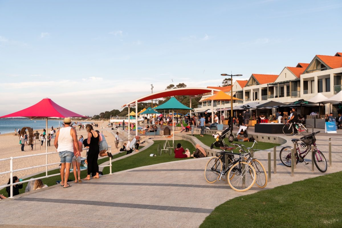 Rockingham Foreshore awarded 2020 WA Landscape Architecture Awards