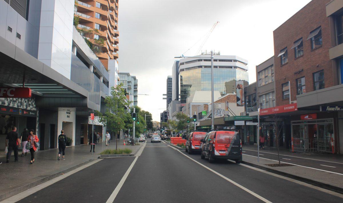 Bondi Junction Cycleway, NSW